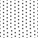 Toalha de Mesa Descartável Branco com Poá Preto 10 unidades Plaspet - Festabox