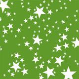 Toalha de Mesa Descartável Estrela Verde Claro 10 unidades Plaspet - Festabox