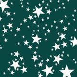 Toalha de Mesa Descartável Estrela Verde Escuro 10 unidades Plaspet - Festabox
