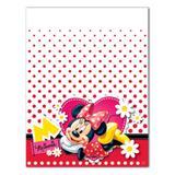 Toalha de Mesa Descartável Minnie Vermelha Regina Festas