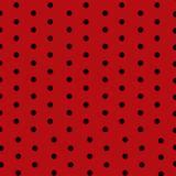 Toalha de Mesa Descartável Vermelho Poá Preto 10 unidades Plaspet - Festabox