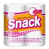Toalha de Papel Snack Folha Dupla com 2 rolos