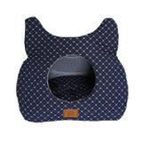 Toca Para Gato Azul Marinho Fábrica Pet