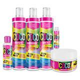 Toda Toda Cosmectics Kit Completo 100 Vegetal Coco - Toda toda cosmetics