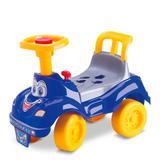 Totoka Azul com buzina, chave e peças geométricas - Cardoso toys