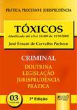 Tóxicos - PPJ Criminal - Volume 3 - Juruá