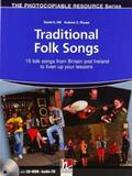 Traditional folk songs - with audio cd and cd-rom - Helbling languages