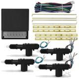 Trava Elétrica Universal Para 4 Portas Dupla Serventia Selada Contra Poeira e Umidade - Prime