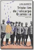 Triste fim de policarpo quaresma - 5o ed - Moderna