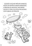 Turma da Mônica Clássicos Ilustrados para Colorir - A Pequena Sereia