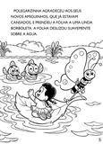 Turma da Mônica Clássicos Ilustrados para Colorir - A Polegarzinha