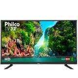 "Tv 32"" philco ptv32d12d led hd conversor digital ptv32d12d"