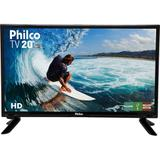 "TV LED 20"" Philco HD Conversor Digital PTV20 HDMI USB"
