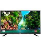 "TV LED 32"" Philco PTV32C30D HD com Conversor Digital 2 HDMI 1 USB"