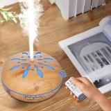 Umidificador de Ar Difusor Aromatizador madeira Flor 500ml - China