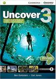 Uncover 3 full combo with online wb and online practice - 1st ed - Cambridge university