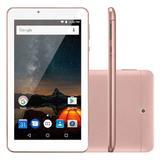 USADO: Tablet Multilaser M7s Plus 8gb Rosa Nb275