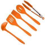 Utensílios Cozinha 5 Peças Silicone Special Orange Weck