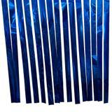 Varal de Fitas Metalizadas Azul - 100 Metros - Badulake