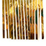 Varal de Fitas Metalizadas Dourado - 100 metros - Badulake
