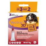 Vectra 3D Cães 40 a 67kg 3 pipetas Ceva