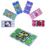 Vela Aromatica para Ambientes Sortidas Colors Kit com 8 Pecas - Top rio