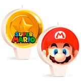 Vela de Aniversário Super Mario Bros - Cromus