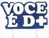 Vela Especial Você é D+ Para Festa E Bolo De Aniversário Azul - Ref: 1277-AZ - Velarte