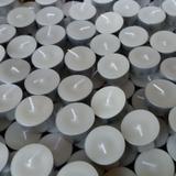 Vela Rechaud - caixa com 50 unidades BRANCA - Caminho da luz velas artesanais