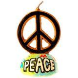 Vela Símbolo Hippie - Festabox