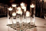 Velas Decorativa Flutuantes P/vidros e Taças Kit 40 Unidades - Encanto velas decorativas