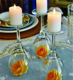 Velas Decorativas Cilíndrica 15 unidades - 4,2cm x 5cm 20 horas - Encanto velas decorativas