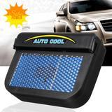 Ventilador Movido A Energia Solar Auto Cool Da Tv - Auto fan