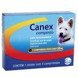 Vermífugo Ceva Canex Composto para Cães até 10 Kg