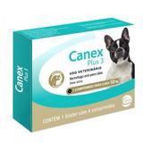 Vermífugo Ceva Canex Plus 3 para Cães até 10kg