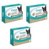 Vermífugo Ceva Canex Plus3 P/ Cães De Até 10 Kg - Kit Com 03