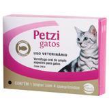 Vermifugo Ceva Petzi Gatos 600 mg 4 Comprimidos