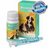 Vermífugo Drontal Puppy 20ml Giardicida Para Cães Filhotes - Bayer