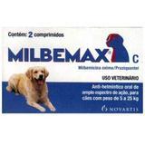 Vermífugo Milbemax C 5KG a 25KG -  2 Comprimidos - Novartis