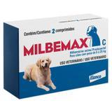 Vermífugo Milbemax C Cães De 5kg A 25kg Com 2 Comprimidos - Elanco