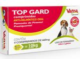 Vermifugo para cachorro -top gard 600 mg 4 comprimidos - Vansil