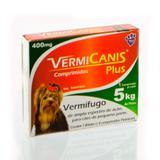 Vermifugo world vet vermicanis 400mg 4 comprimidos