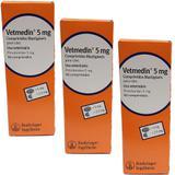 Vetmedin 5mg 50 comprimidos KIT 3 unid Boehringer Pimobendan - Merial boehringer