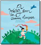 Viagem da chama olimpica. a - Galocha