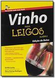 Vinho para leigos - Alta books