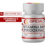 Vitamina B6 (Piridoxina) 100Mg 100 Cápsulas - Oficialfarma