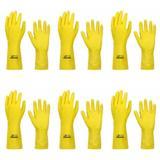 Volk Luvas P/ Procedimentos Profissional Amarela Forrada G (Kit C/06)