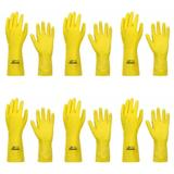 Volk Luvas P/ Procedimentos Profissional Amarela Forrada P (Kit C/06)