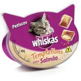 Whiskas Temptations Salmão para Gatos- 40g