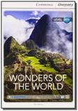 Wonders of the world - book with online access a1 - Cambridge